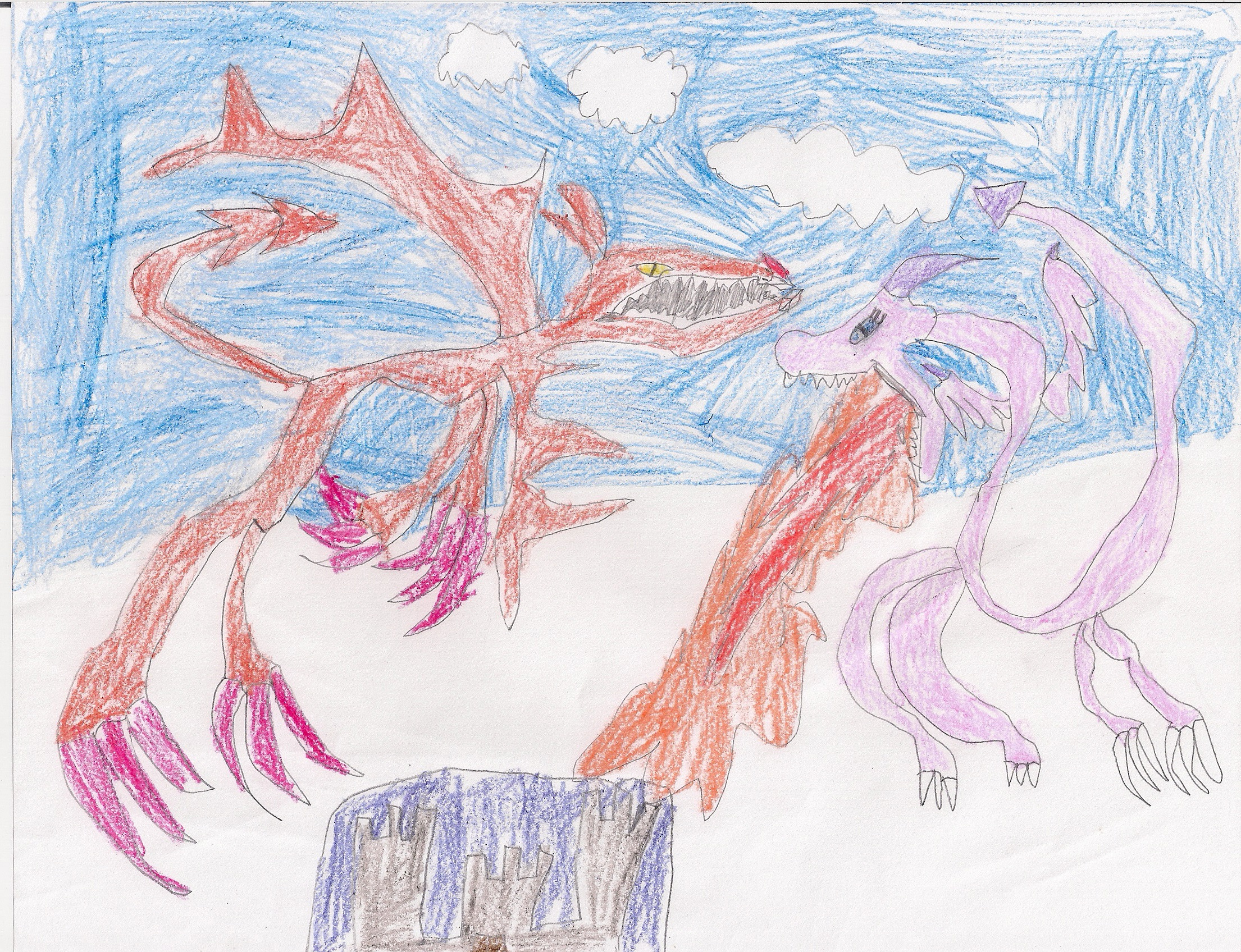 One of my son's drawings